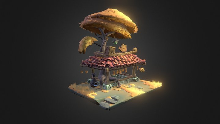 Little Shrine - Arthur Sirjacobs 3D Model