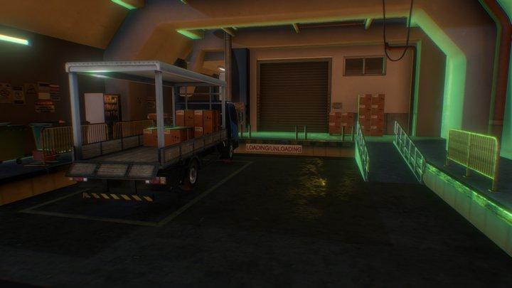 Loading & Unloading 3D Model