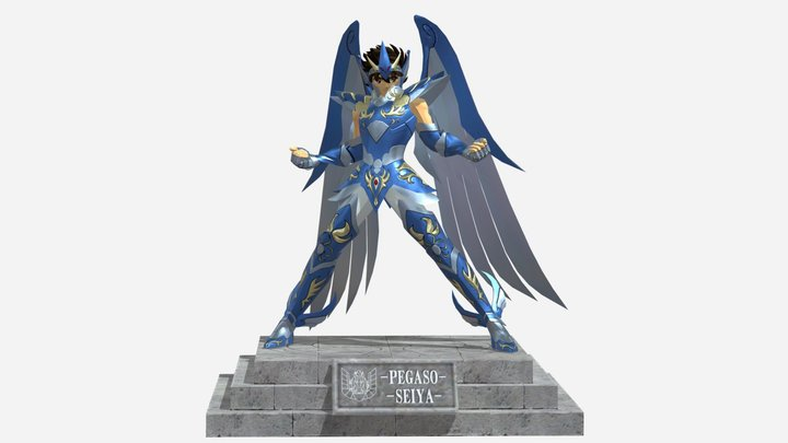 Seiya God Cloth 3D Model