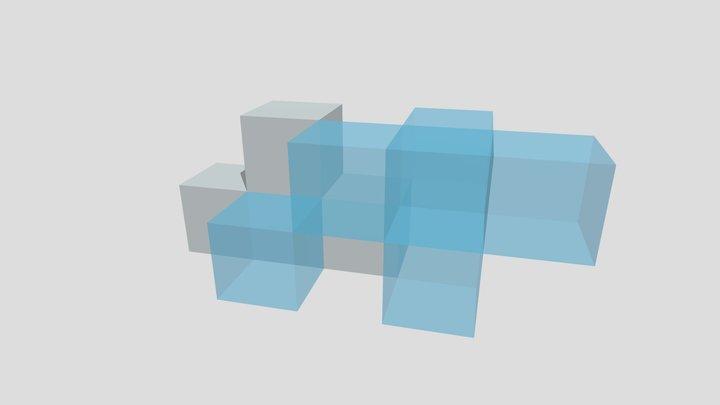 cubes 3D Model