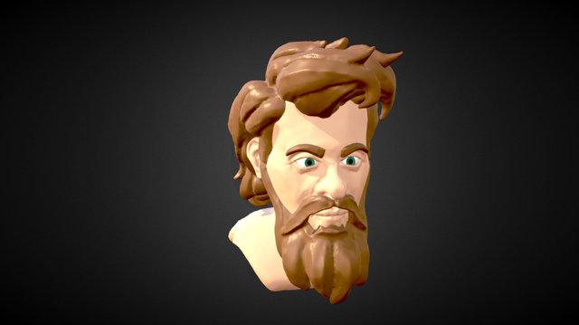 Robinson - Head Sculpt 3D Model