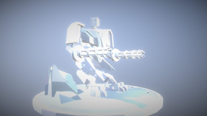 Robozin - Sketchfab 3D Model