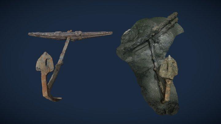 Anchor Animation 3D Model
