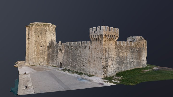 Fortress Kamerlengo 3D Model