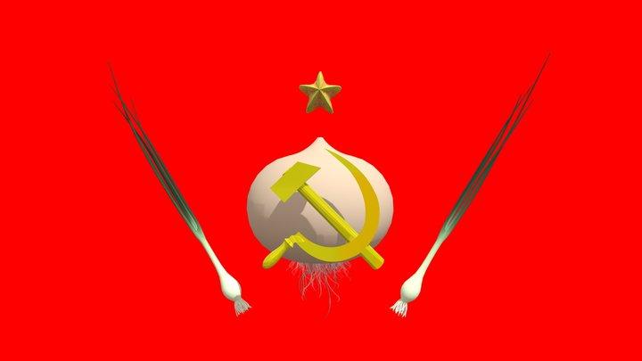 The Soviet Onion 3D Model