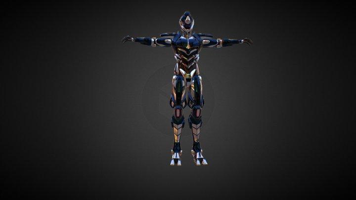 Guyver-Thriller 3D Model