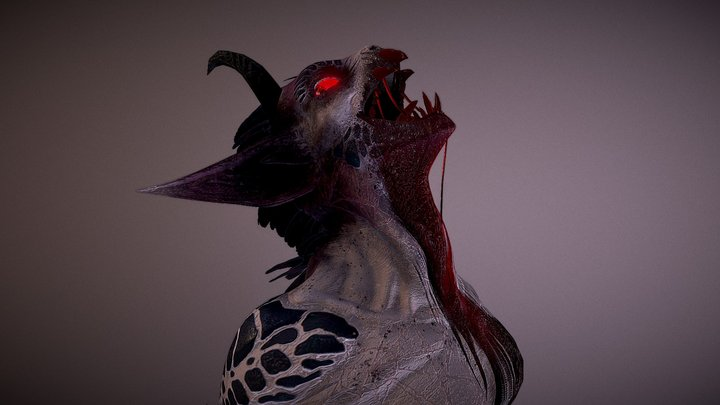 """Bassang """"The Curse Blooded"""" 3D Model"""
