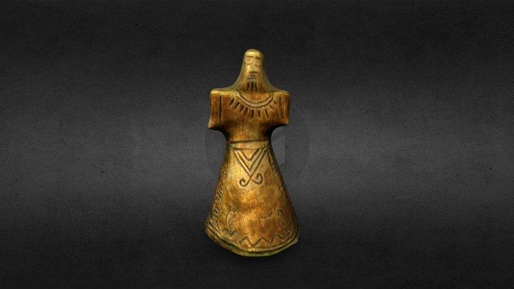 Bronze Age Idol 3D Model