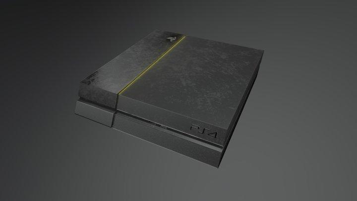 PS4 Model 3D Model