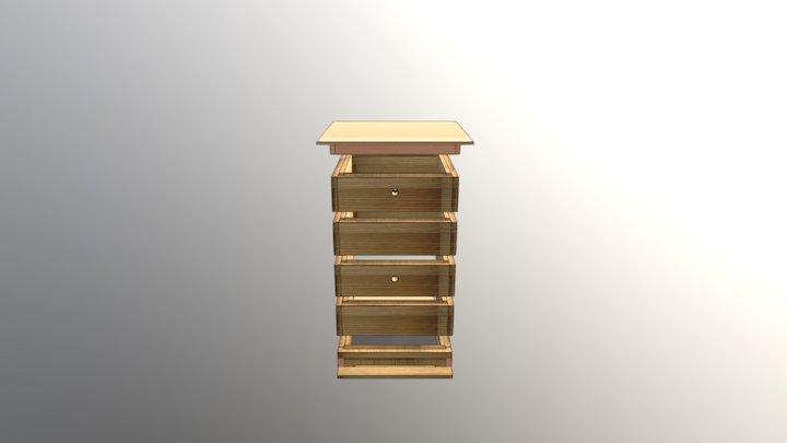 Beehive Illustration 3D Model