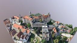 Schloss Sigmaringen 3D Model