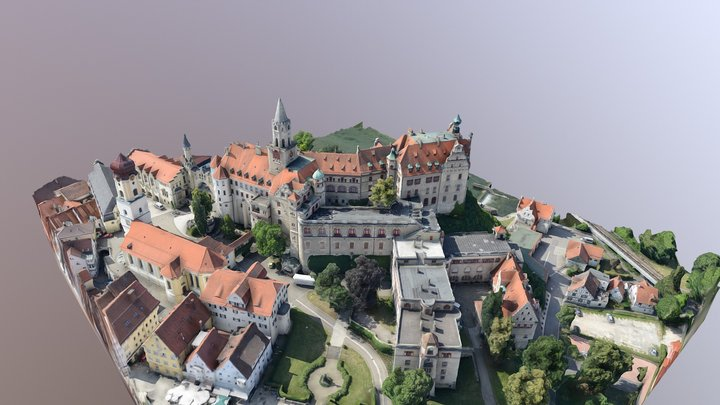 Schloss Sigmaringen 3D Model