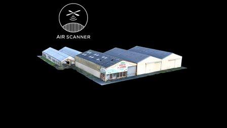 Entrepôt warehouse 3D Model