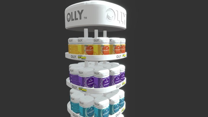 OLLY Floorstand 3D Model