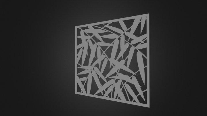 calado bambu 3D Model
