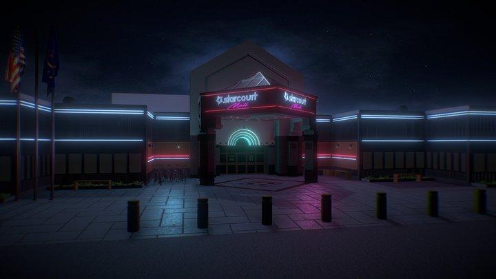 Starcourt Mall (Stranger Things) 3D Model