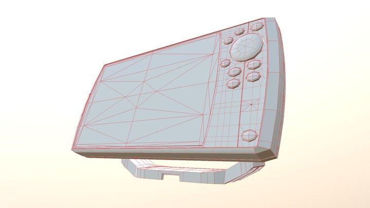 GPS - Fishing Humminbird Helix (Low Poly) 3D Model