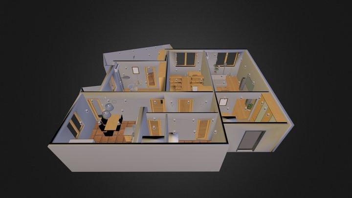 Flat plan 3D Model