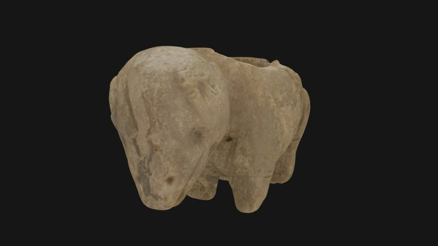 Hohokam Bighorn Sheep 3D Model