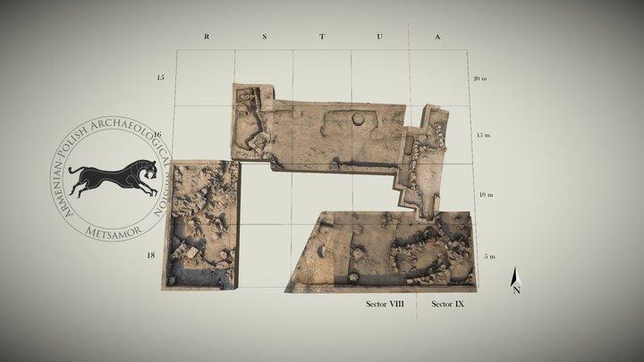 Metsamor - Excavation Area 2015 3D Model