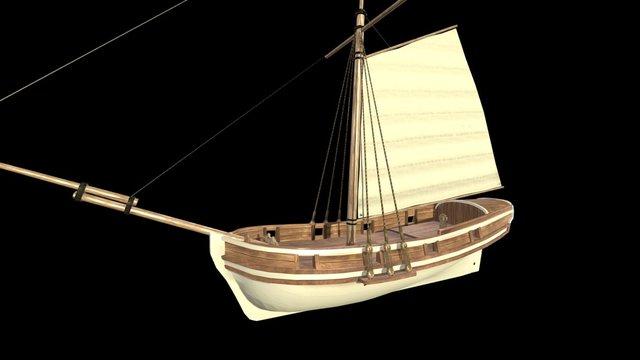 War sloop 3D Model