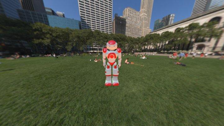 Nao Robot 3D Model