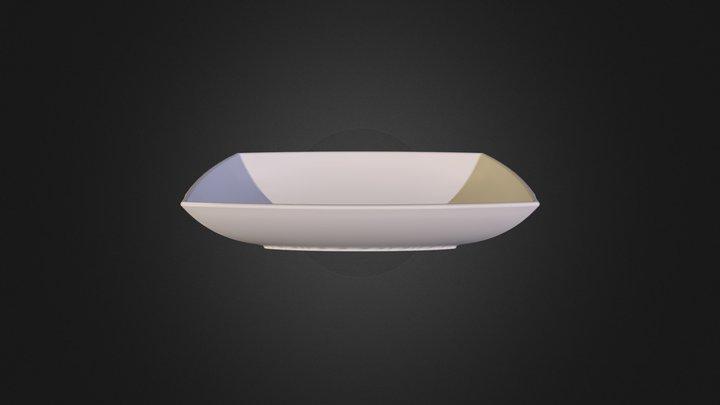 01 Art Jazz Wash Basin 40x60 3D Model