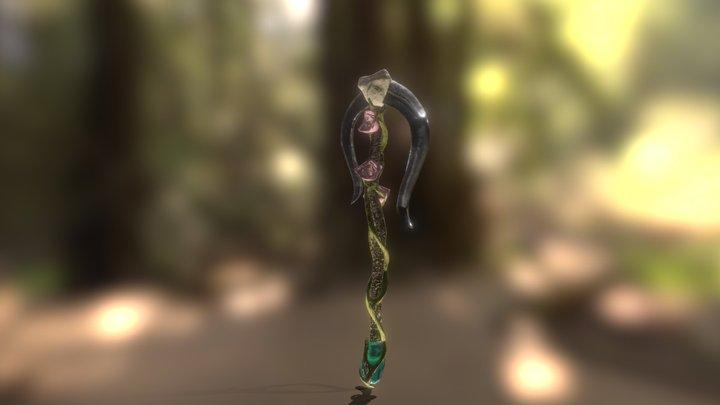 Final Fantasy Weapon 3D Model