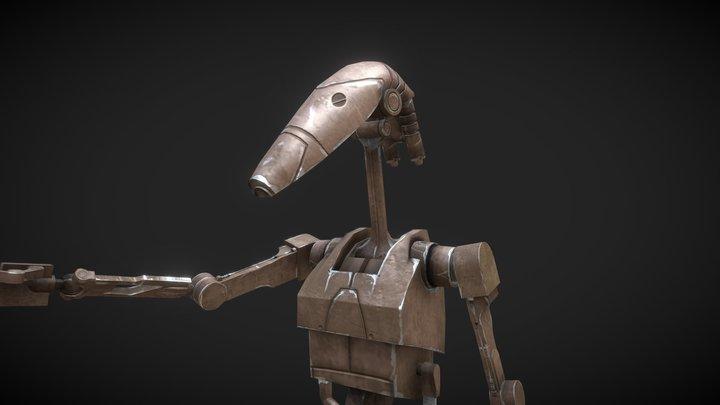 B1 - Battle Droid 3D Model