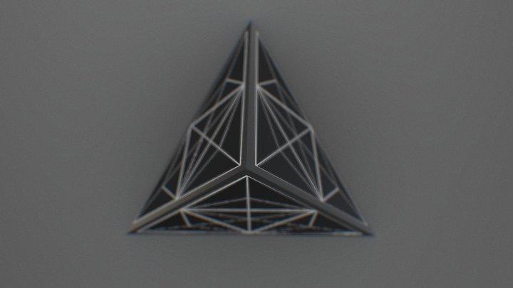 UXR Tetrahedron 3D Model