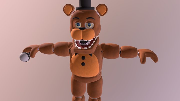 Unwithered Freddy By Coolioart FBX 3D Model