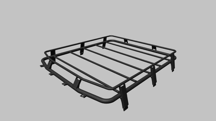 Roof rack F-DESIGN FD 2.0 Lada 4x4 3D Model