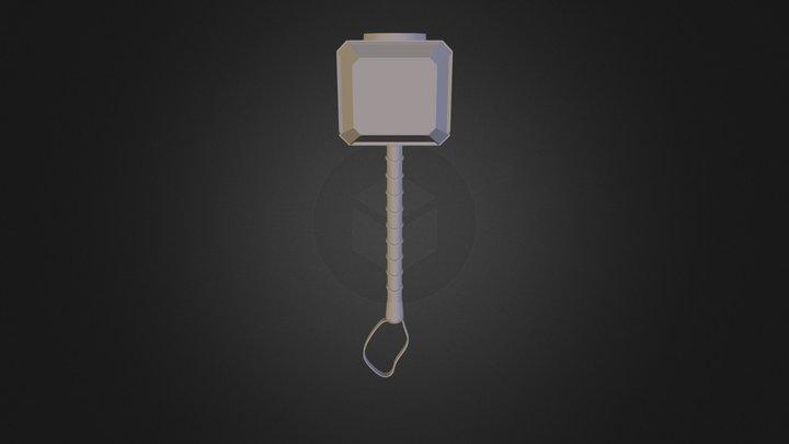 Hammer Thor 3D Model