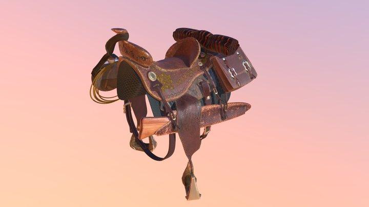 Complete Saddle 3D Model