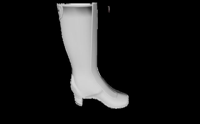 Fancy Boots 3D Model