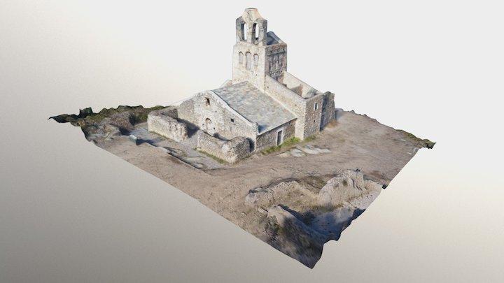 Església Santa Helena de Rodes 3D Model