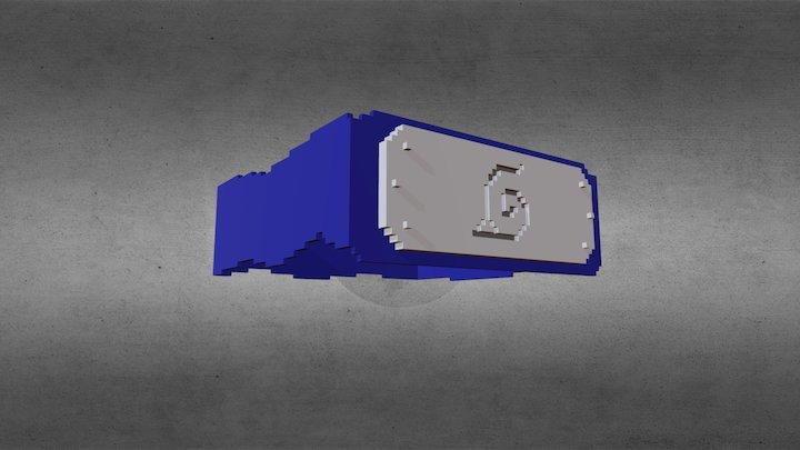 Naruto Head Band Minecraft 3D Model