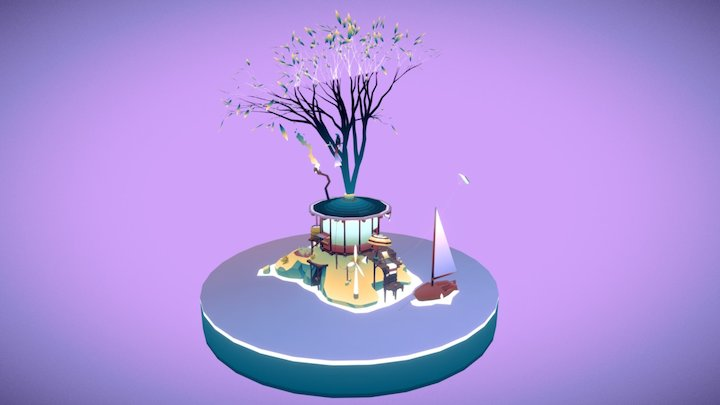 3 seconds of vacations 3D Model