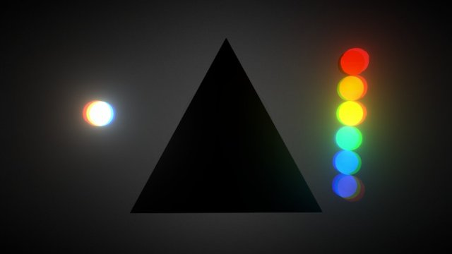 The Dark Side of the Moon 3D Model