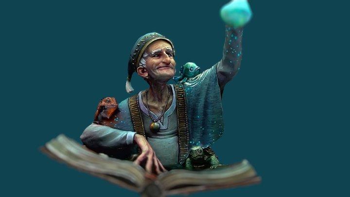 The Alchemist - Romain van den Bogeart 3D Model