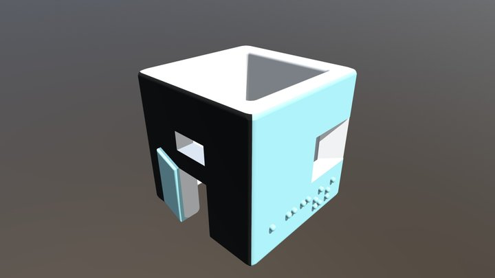 Porte Cle 13-PC OBJ+MTL 3D Model