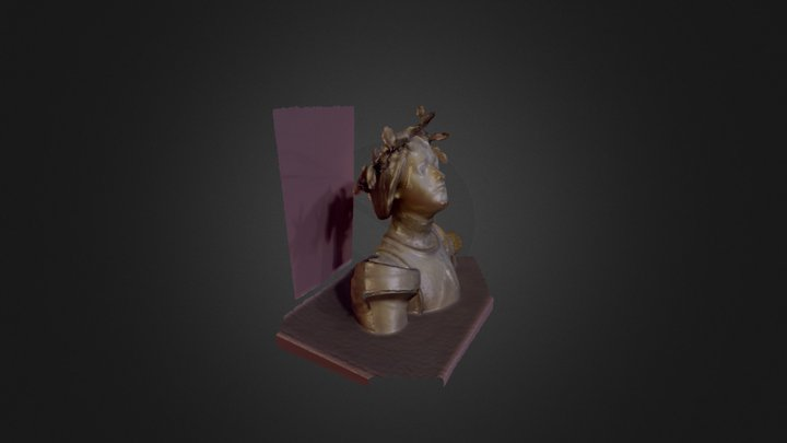 Art Institute of Chicago, Scan No.9 - Jean d'Arc 3D Model