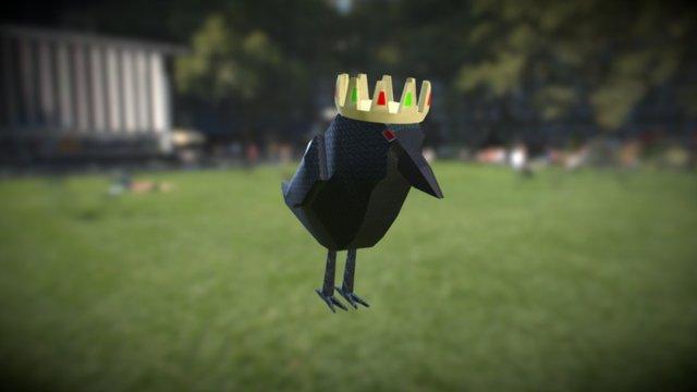 Rey Ben el cuervo 3D Model