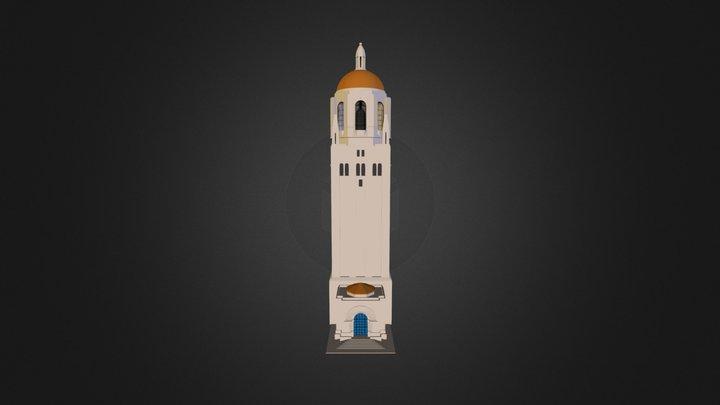 Hoover Tower 3D Model