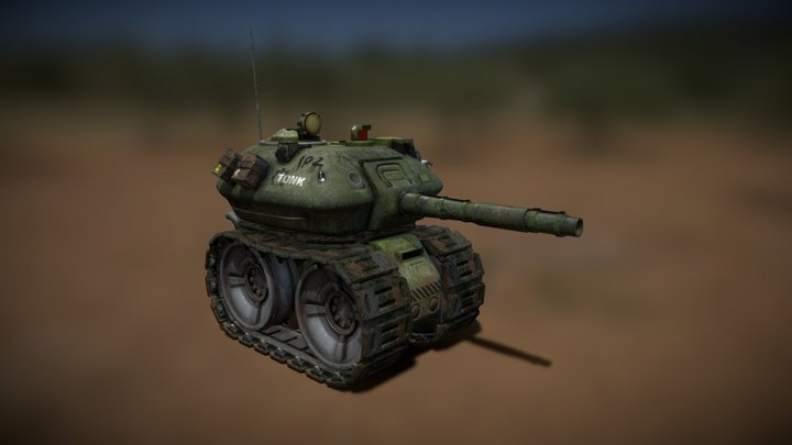 Tonk 3D Model