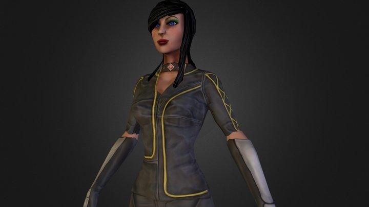 Isabelle Lightwood Fan art 3D Model