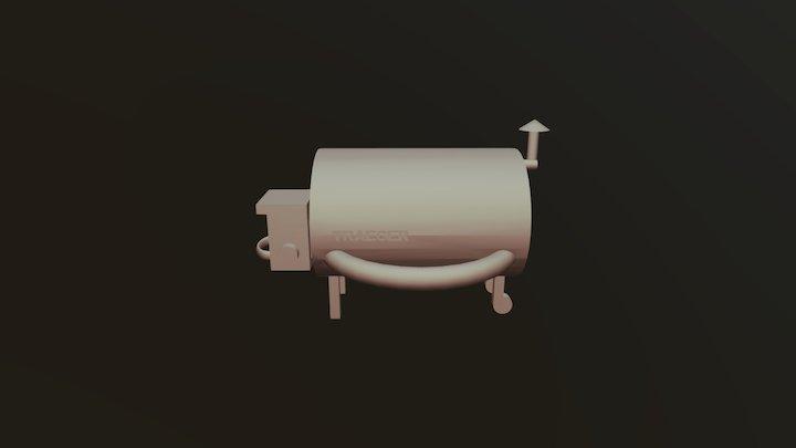 Treager grill model 3D Model