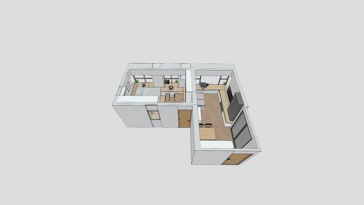 雍翠豪園C室 draft.v2 3D Model