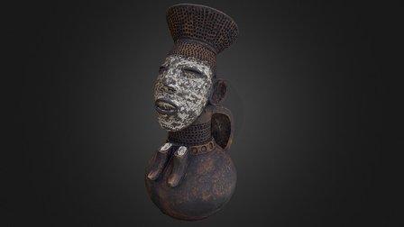 Vasija antropomorfa femenina 3D Model