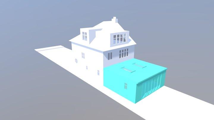 1255 - 101 Wades Hill London N21 1AP 3D Model